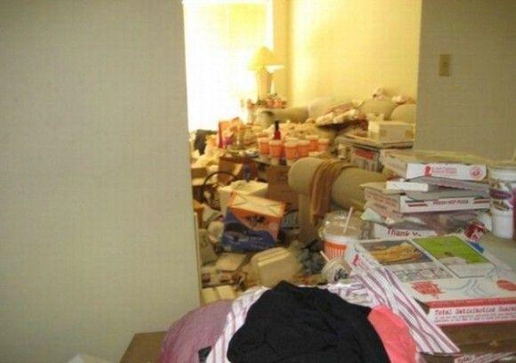 汚すぎる部屋1