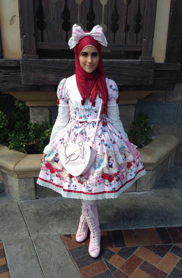 イスラム教徒のロリータファッション12