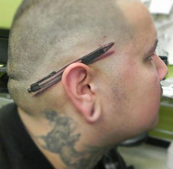 海外の3Dタトゥーが凄い9