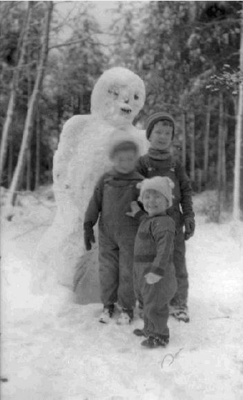 恐ろしすぎる雪だるま10