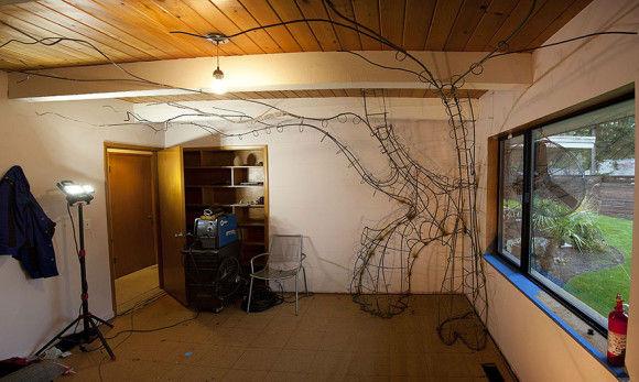 娘の為に作った妖精の樹の部屋6