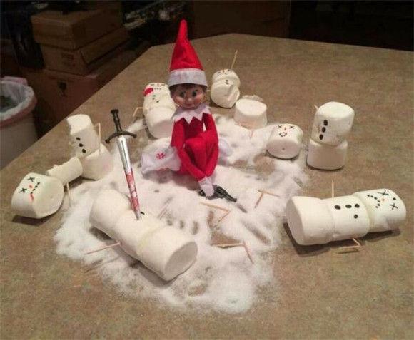 人形たちの爆笑クリスマス6