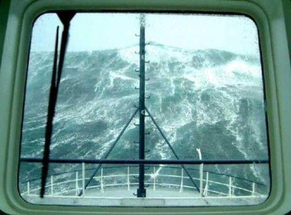 嵐の船で撮影9