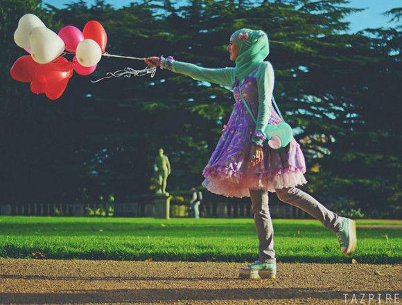 イスラム教徒のロリータファッション4
