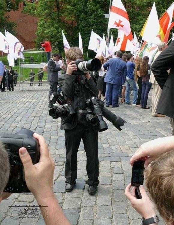 カメラマンの姿33