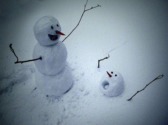 恐ろしすぎる雪だるま5