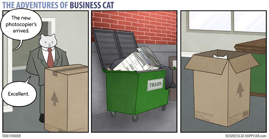 ネコが上司だったら1