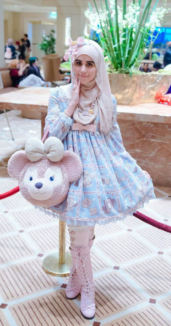 イスラム教徒のロリータファッション1