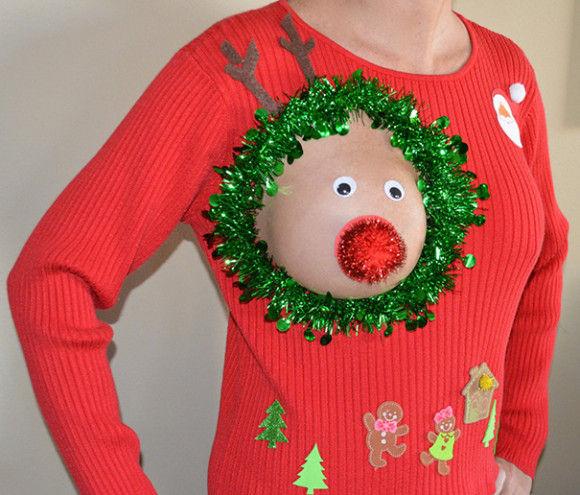 最高にダサいクリスマスセーター1