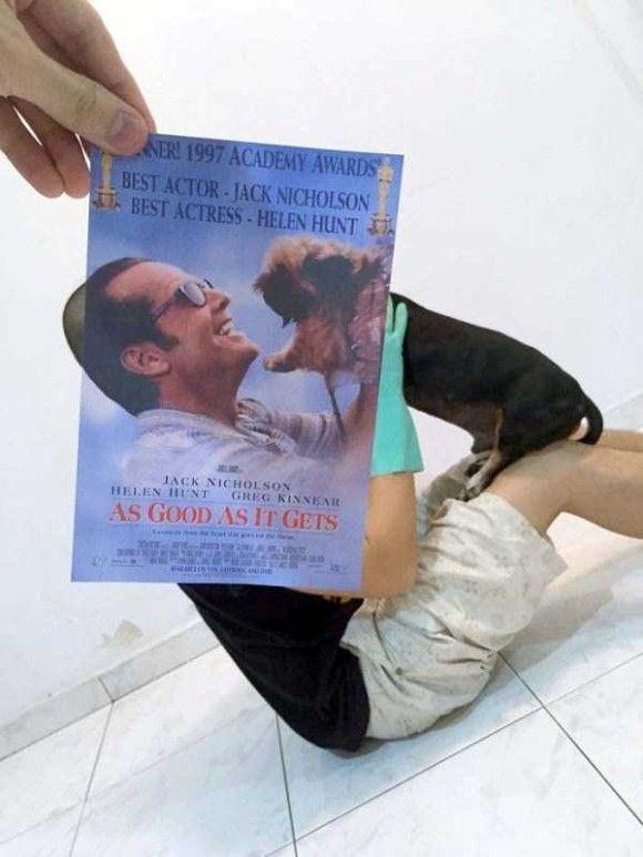 映画のポスターとシンクロ5