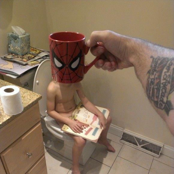 マグカップでスーパーヒーローに変身?!16