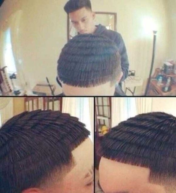 凄い髪型11