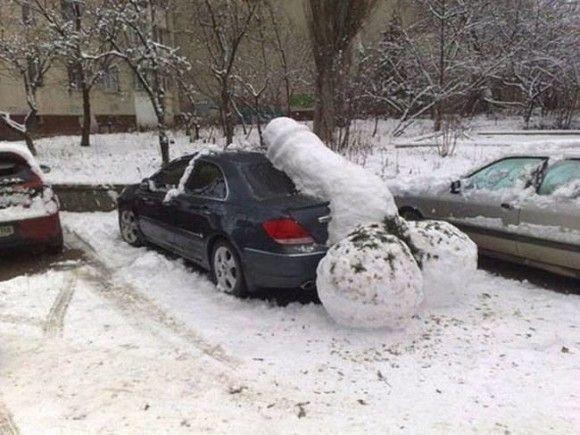 冬を満喫する人14