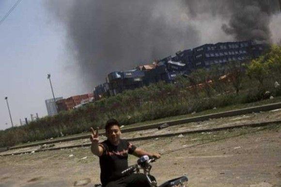 天津爆発画像4