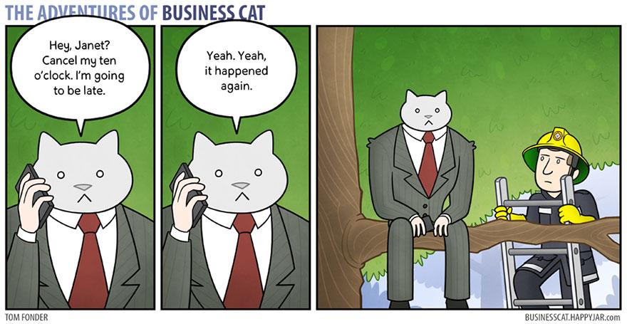 ネコが上司だったら8