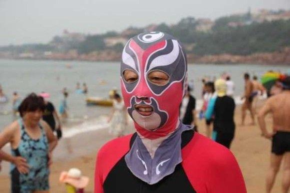 中国の奇妙な海のファッション6