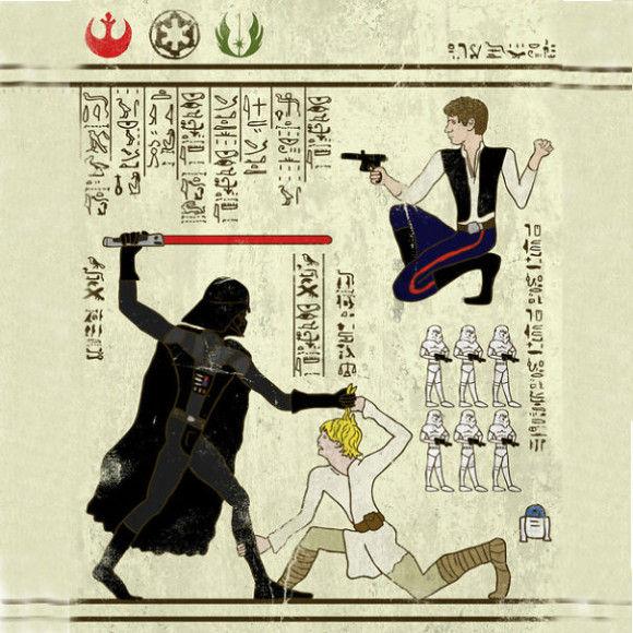 古代の壁画アニメ1