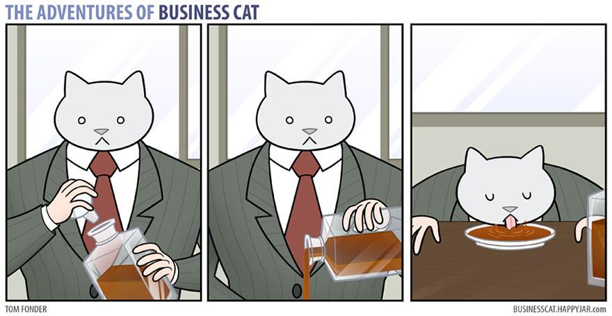 ネコが上司だったら15