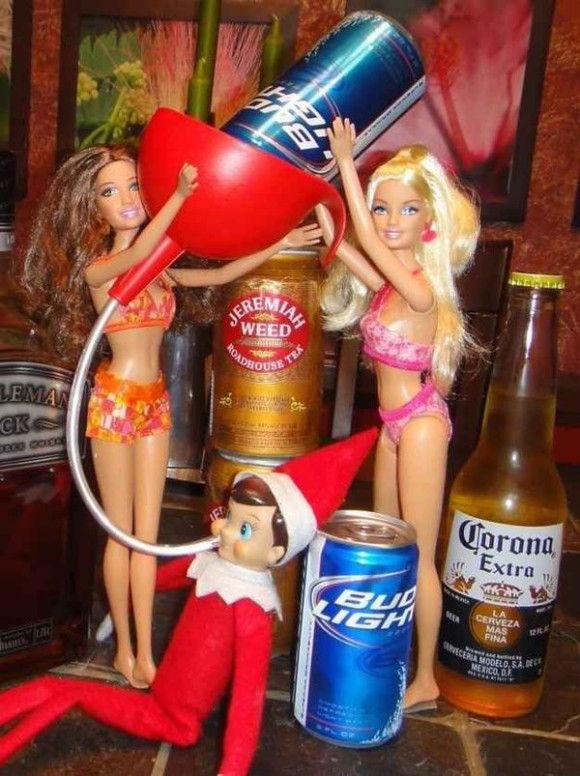 人形たちの爆笑クリスマス1
