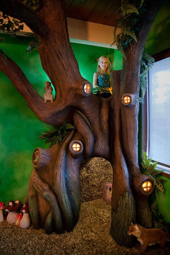 娘の為に作った妖精の樹の部屋12