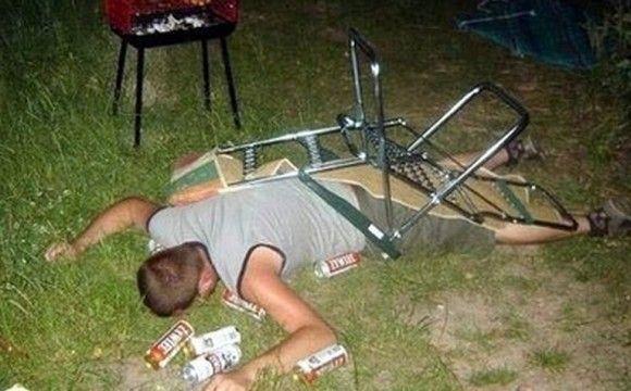酔っぱらいの末路1
