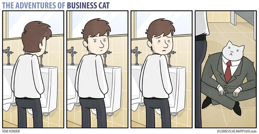 ネコが上司だったら6