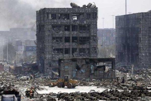 天津爆発画像1