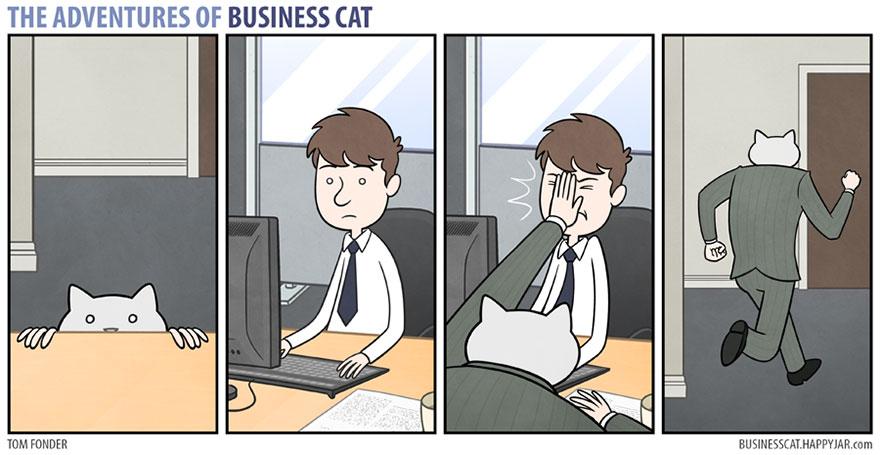 ネコが上司だったら17