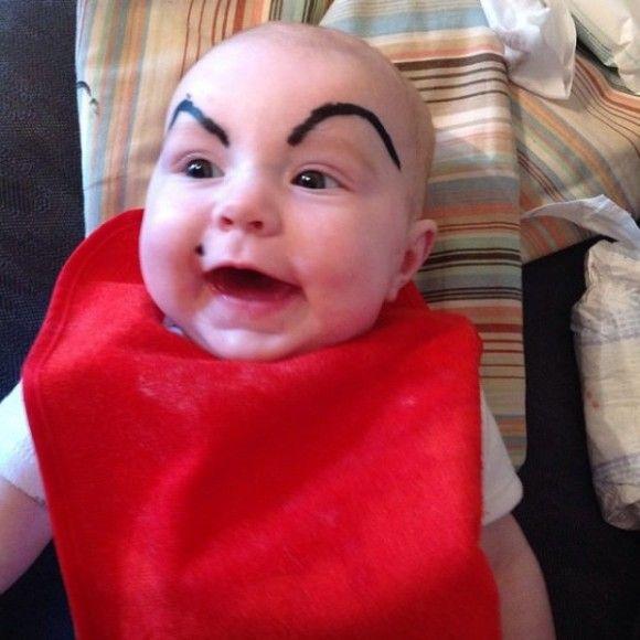 笑える赤ちゃん18