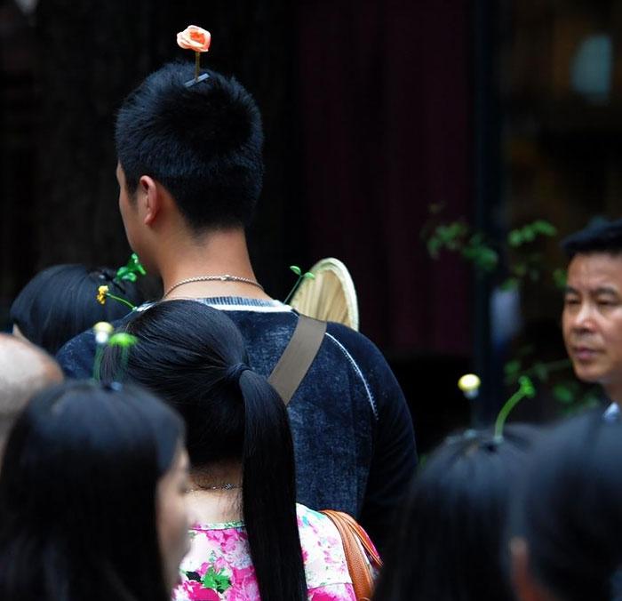中国ではやっているヘアピン9