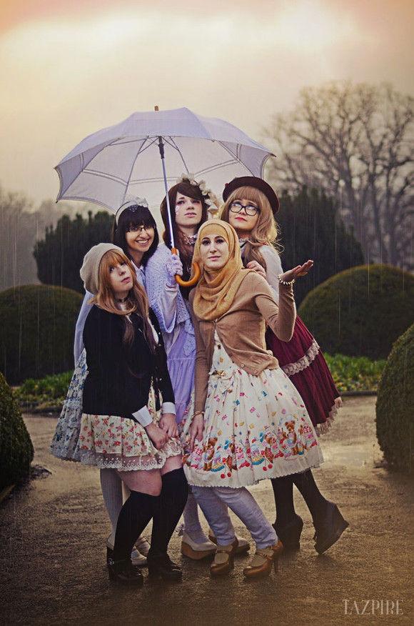 イスラム教徒のロリータファッション5