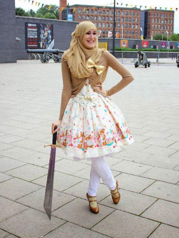イスラム教徒のロリータファッション7