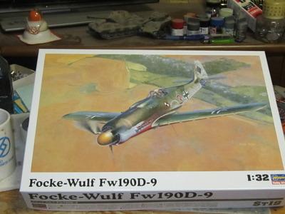 ハセガワFw190D-9