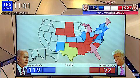 大統領選1104TBS02
