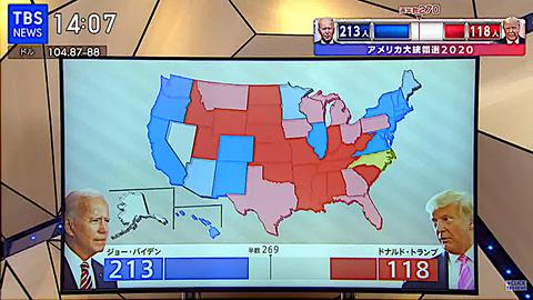 大統領選1104TBS06