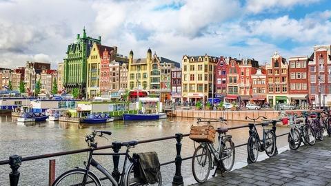 オランダ「車から降りて自転車に乗ろう」 - AFPBB News