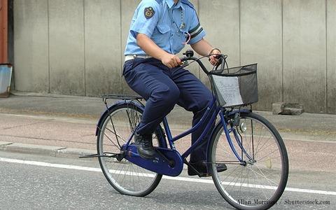【驚愕】警察官チャリダー、剛脚だった。