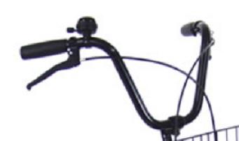 自転車のハンドル切られててワロタwwwwwwwwwwww