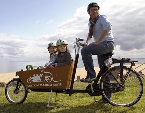 自転車に子供乗せても倒れない。牽引式チャイルドトレーラー!!!!