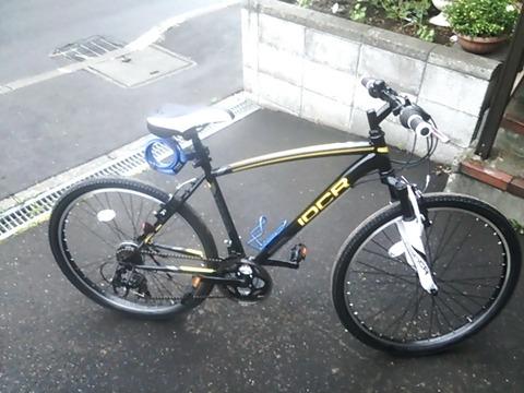 【自慢】友達がこの『クロスバイク』を買ったらしい