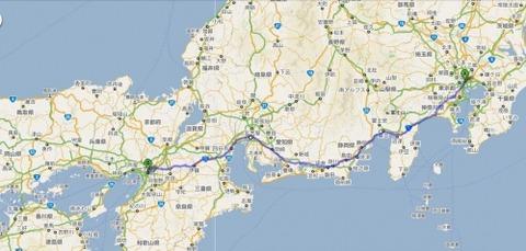 【自転車】大阪→→東京キャノンボール!! 高校生無事クリア!