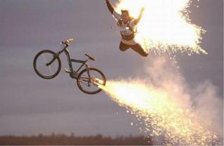 【驚愕】自転車と電動バイクが合体!! ハイブリッドバイク!!