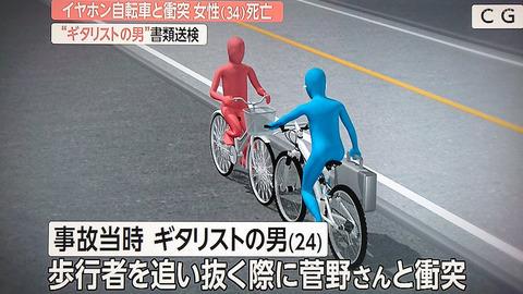 自転車のギタリスト事故ってどうよ?