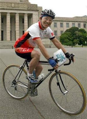 """自転車転倒のレジェンド """"谷垣"""" 氏が無事退院なわけで・・・"""