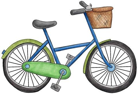 自転車が好きな大学生