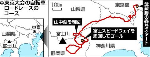 【五輪】東京大会「自転車ロードレース」は富士山コース決まりです。