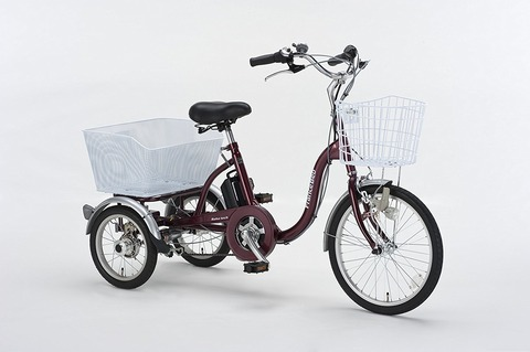 三輪自転車はそれなりに合理的な乗り物だと思う。 思う。。。