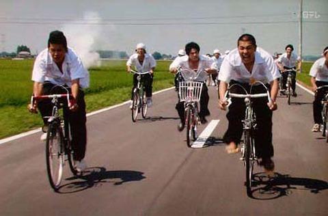 自転車通学って良いよな憧れる