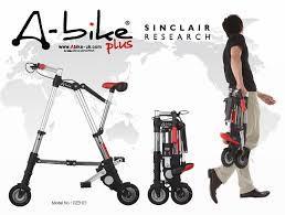 """極小折り畳み自転車 """"A‐BIKE"""" を買ったったあたwwwwwwww"""