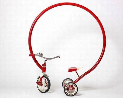 おもしろい自転車を作りたいのでアイディアをください。